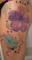 2 Flower Stars Butterflies TaT