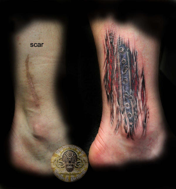 Scar Cover Up Tattoos