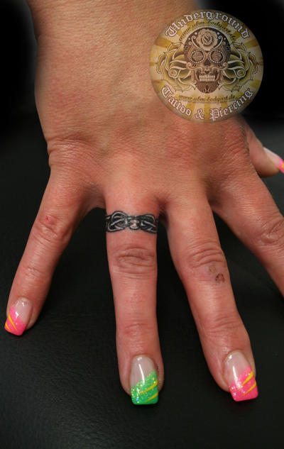 Ring Tattoo Hand
