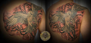 falcon  bg tattoo by 2Face-Tattoo