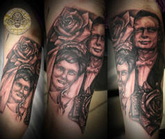 portrait of parents by 2Face-Tattoo