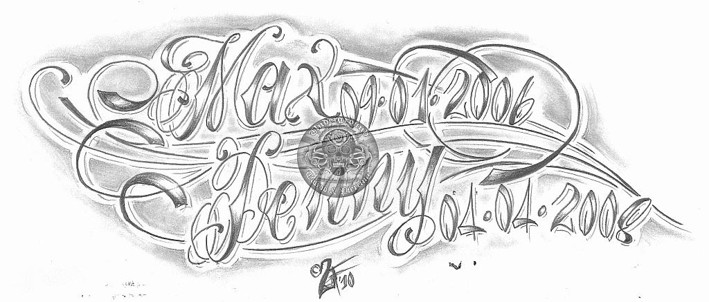 tattoo lettering script. script lettering tattoo