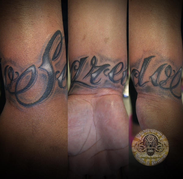 chicano lettering tattoo by *2Face-Tattoo on deviantART