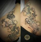 1. session New school tattoo