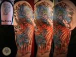 Cover up japanese tattoo