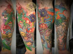 Freaky armsleeve tattoo 3. ses