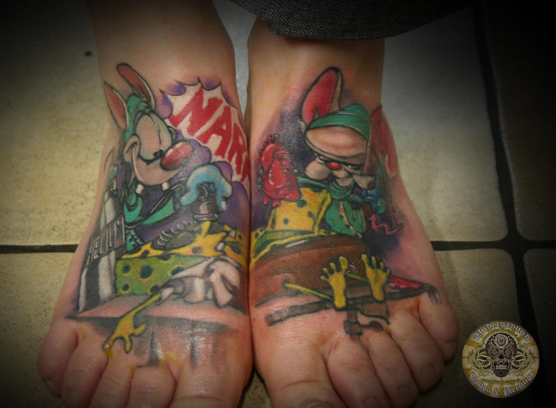 cover up pinky brain finished by 2face tattoo on deviantart