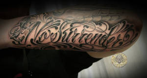 chicano surrender anchor by 2Face-Tattoo
