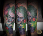 Joker Batman gamble tat