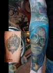 Cover up Santa Muerte color