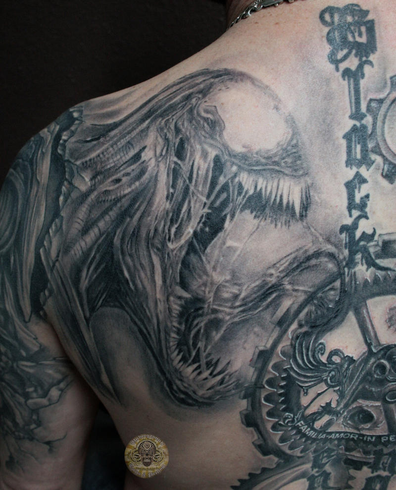venom healed back in prg by 2face tattoo on deviantart. Black Bedroom Furniture Sets. Home Design Ideas