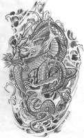 Tattooflash Dragon