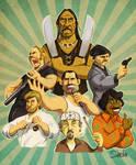 Mustache Heroes
