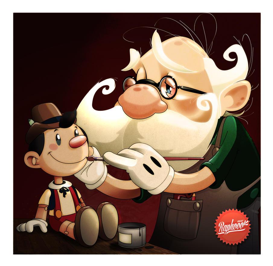 Pinocchio by Raphooo2014