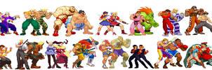 Street Fighter Alpha Tag