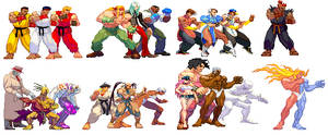 Street Fighter III Team Battle