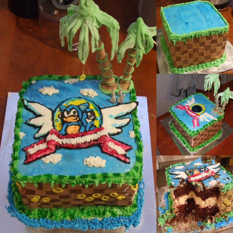 Sonic Cake by pixlem