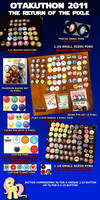 Otakuthon 2011 Buttons Badges