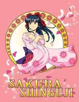 Sakura Wars - Sakura Shinguji by pixlem