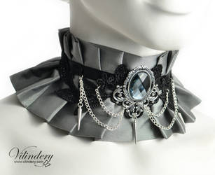 Ice queen choker by vilindery