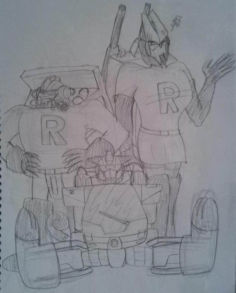 Energon Decepticon Team Rocket by NoxiaPrime