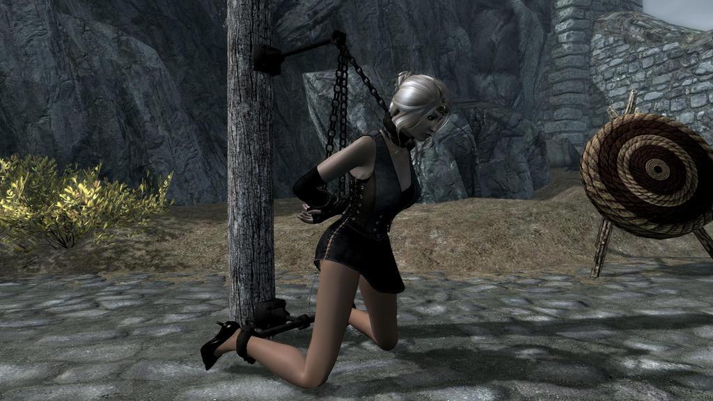 Skyrim Princess Bound 1 By Thephantom52 On Deviantart-4533