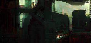 Futuristic City 001
