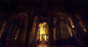 Temple cave. by cesarsampedro