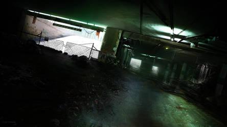 Underground car park by cesarsampedro