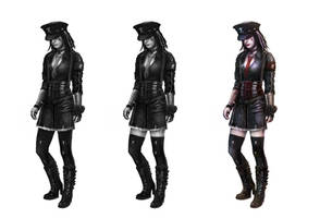 Gothgirl by cesarsampedro