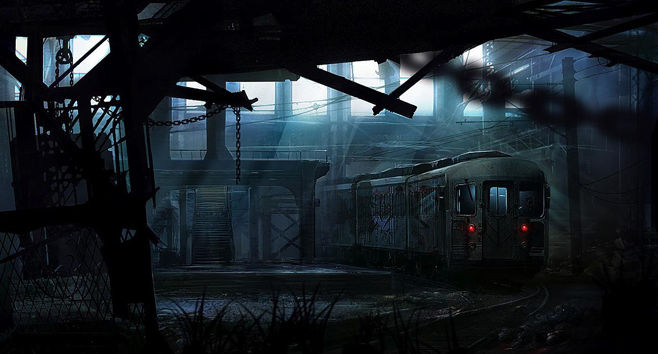 Metro Station by cesarsampedro