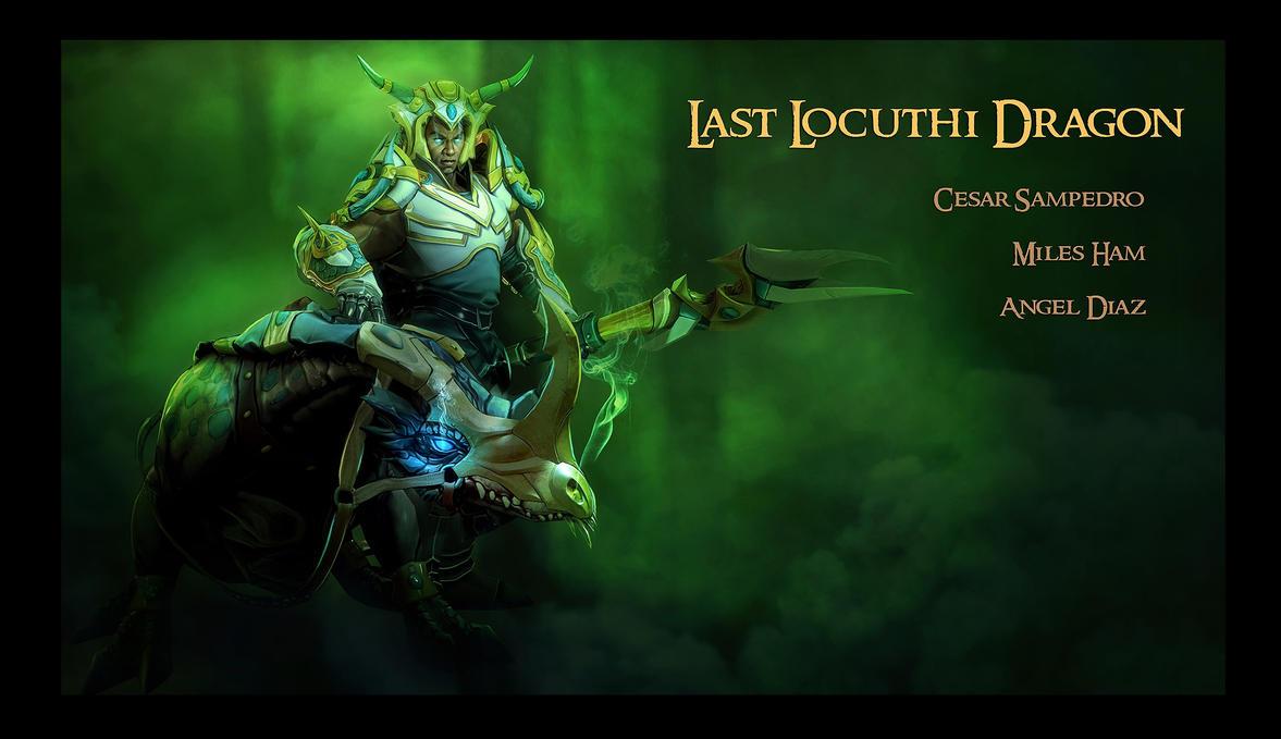 Chen - Last Locuthi Dragon Dota2 by cesarsampedro
