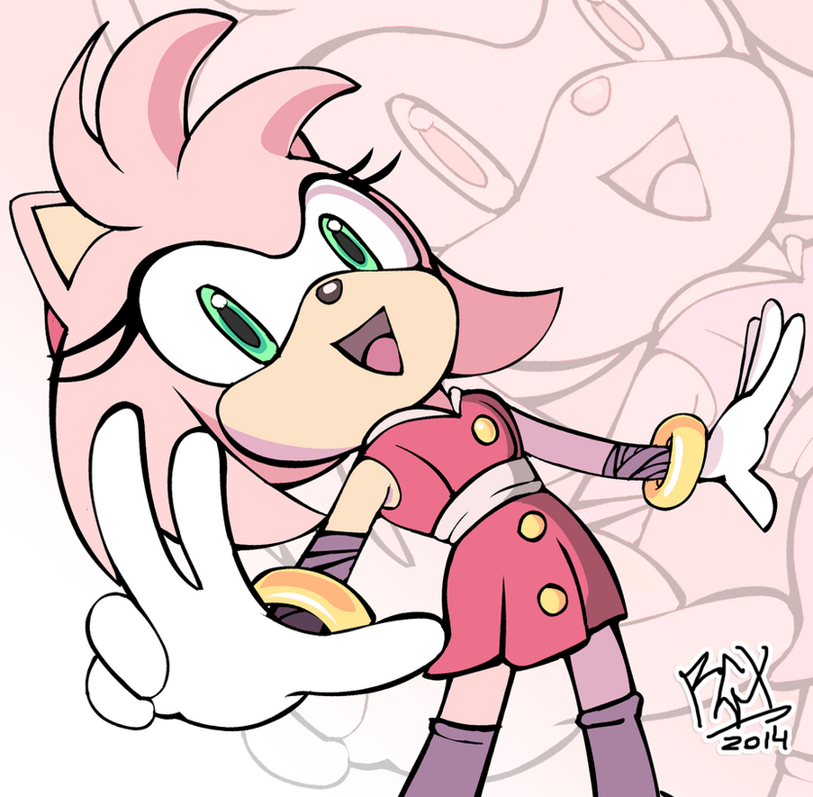 from naked Amy sonic