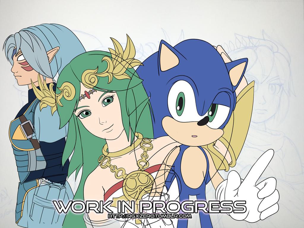 RGX's Smash Bros. Mains by RGXSuperSonic