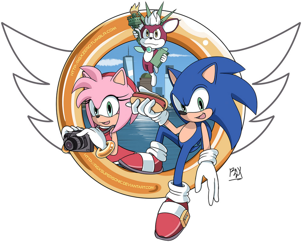Sonic Boom 2014 - T-Shirt Design by RGXSuperSonic