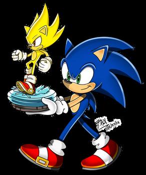 Sonic's New Statue