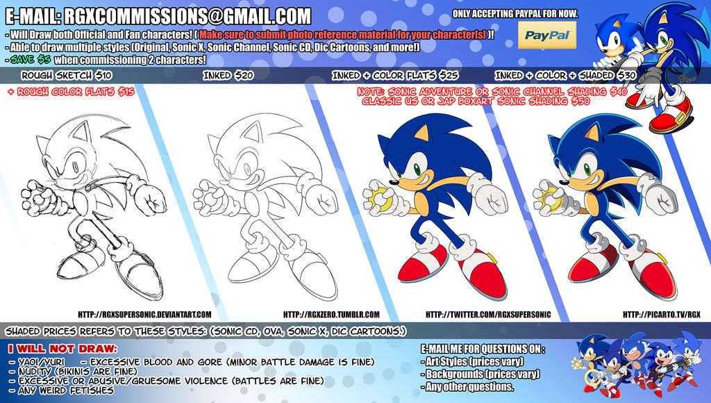 Commission Sheet + Prices (Closed for now!)