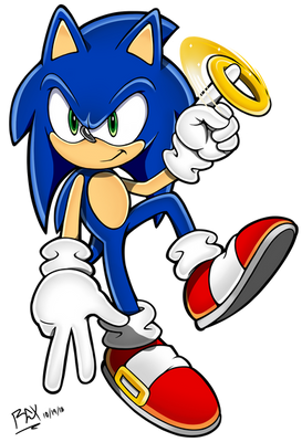 2018 - Sonic Channel: Sonic with ring