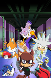 Sonic Forces: Operation Infiltration #1 Cover