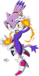 2019 - Blaze the Cat (Sonic X) by RGXSuperSonic