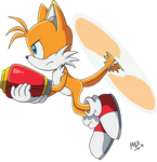 2019 - Miles Tails Prower (Sonic X) by RGXSuperSonic