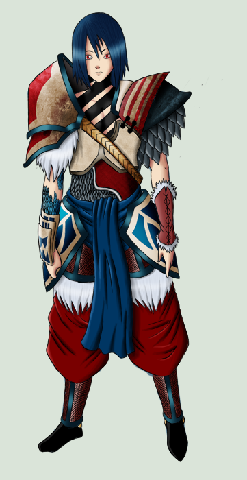 Batto armor withbg by BlueTemper