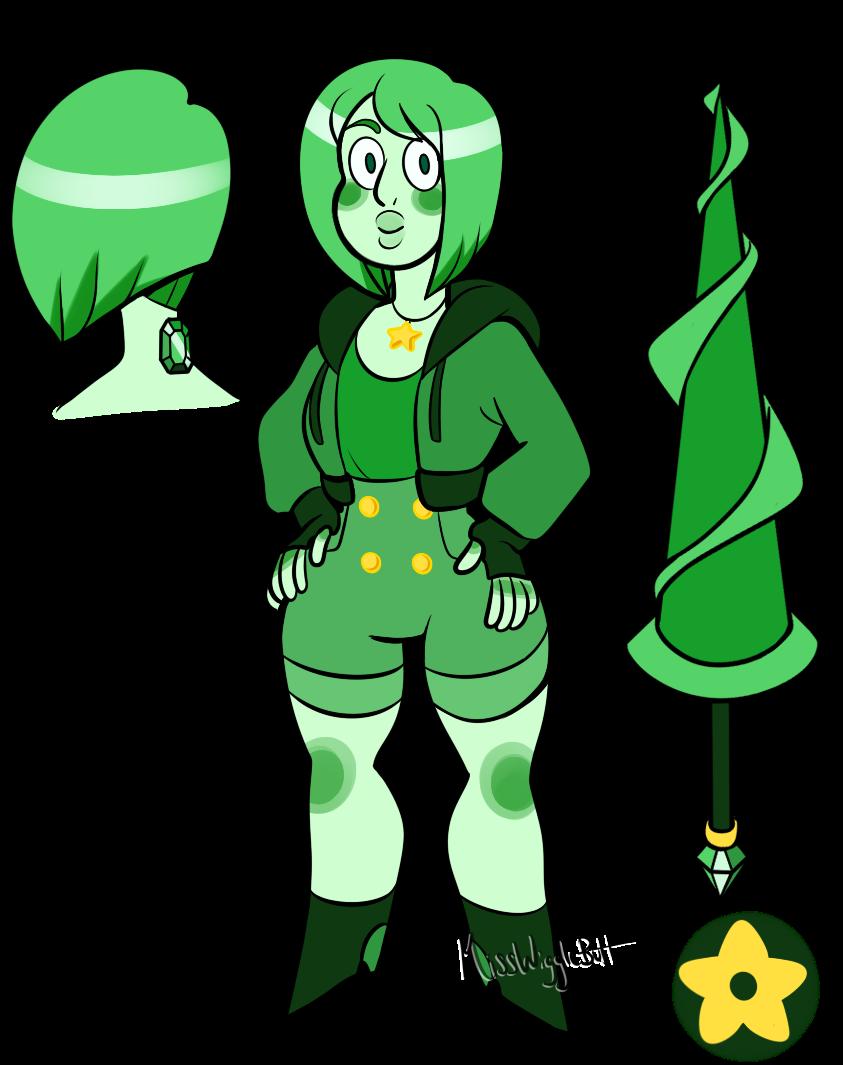 Gemsona Emerald By MissWiggleButt On DeviantArt