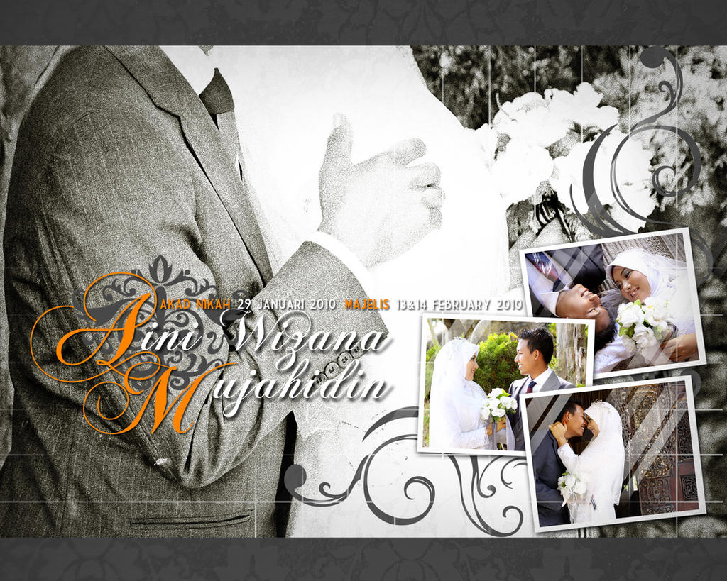 Cover Wedding Album By Hesty0704