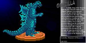 Godzilla Classic Trophy by Linkzilla