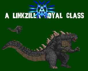 Godzilla 2014 Custom Sprite by Linkzilla