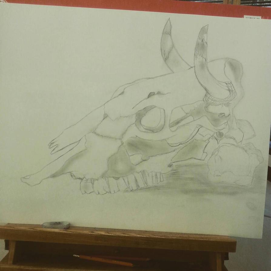 skull practice by Xxunknown227xX