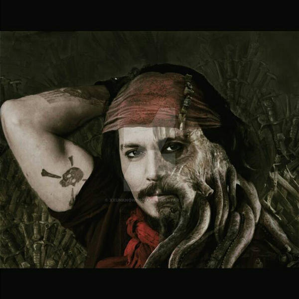 Captain Davy Sparrow   by Xxunknown227xX
