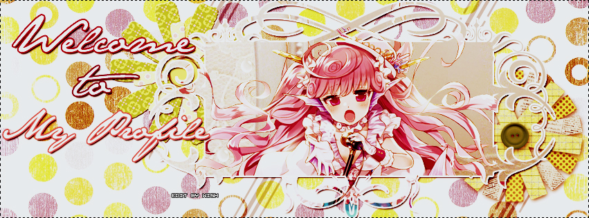 Welcome To My Profile(My Facebook Timeline Cover) by LilPriWish on