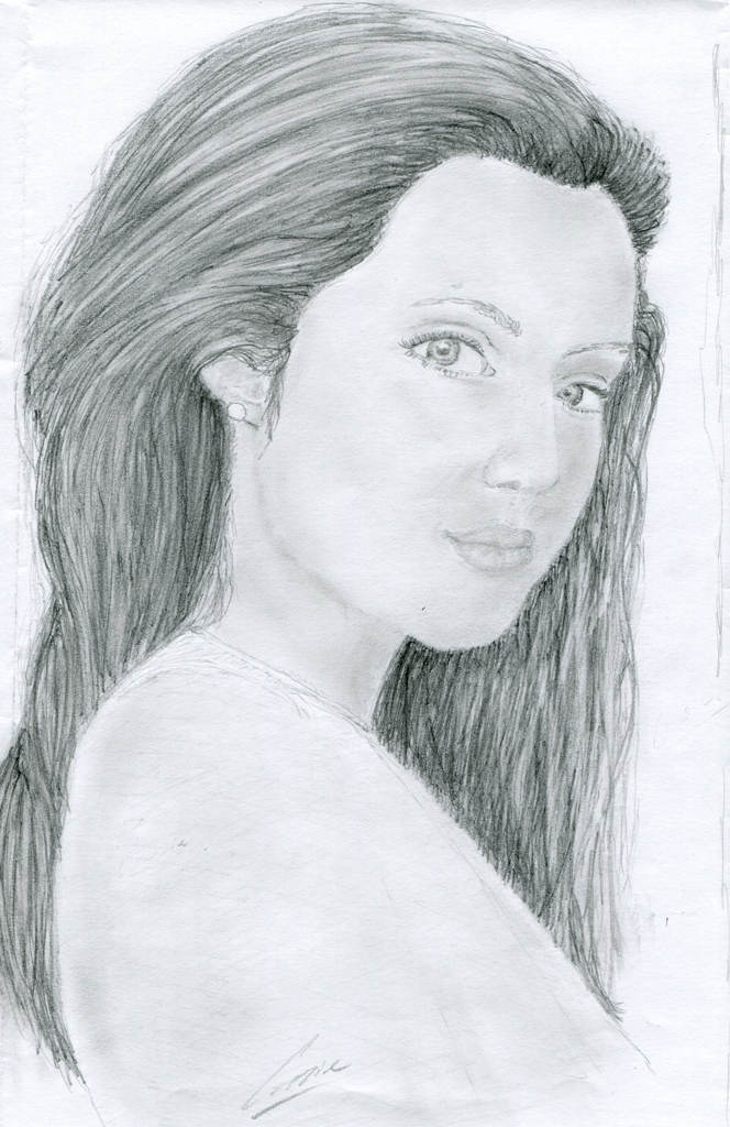 Angelina Jolie by Esamonia
